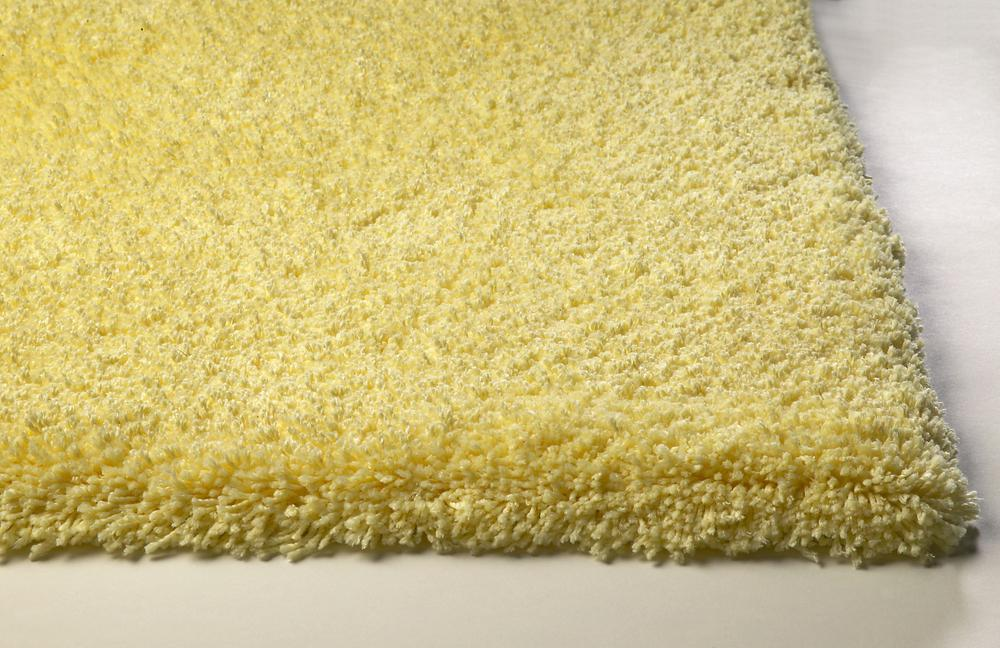 Kas Bliss 1574 Canary Yellow Shag Area Rug Free Shipping