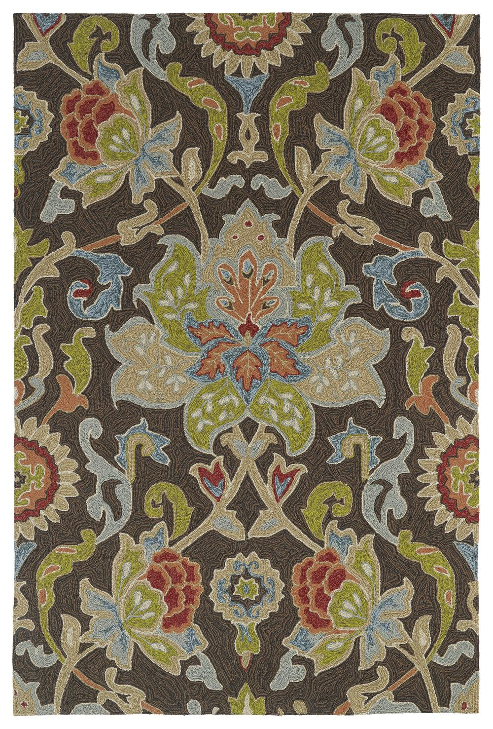 Kaleen Home And Porch Chocolate 2042 40 Area Rug Free