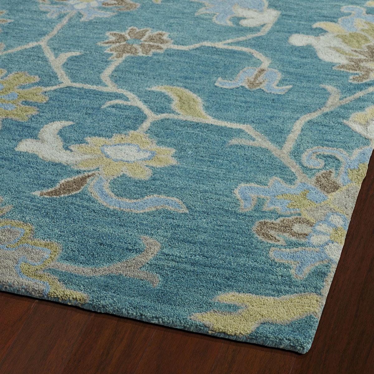 Rooms Kaleen Helena Rug: Kaleen Helena Turquoise 3209-78 Area Rug