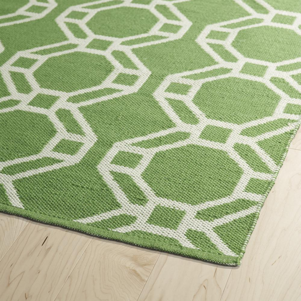 Lime Green Overdyed Rug: Kaleen Brisa Lime Green Bri05-96A Area Rug