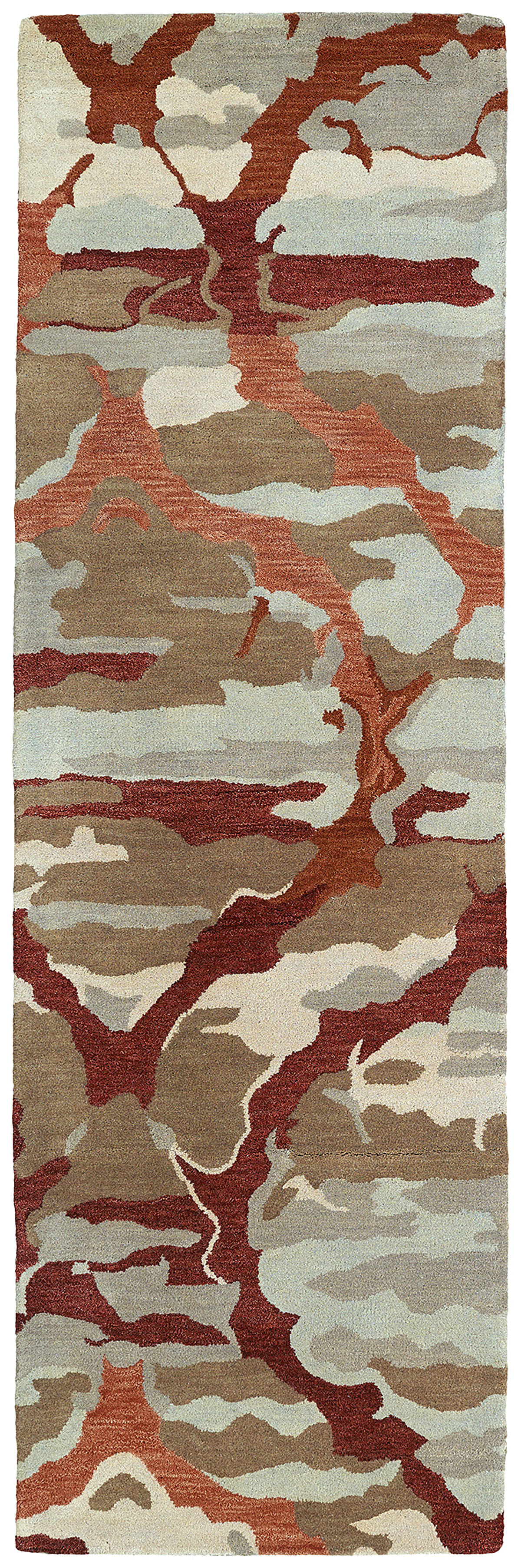 Kaleen Brushstrokes Red Brs02 25 Area Rug Free Shipping