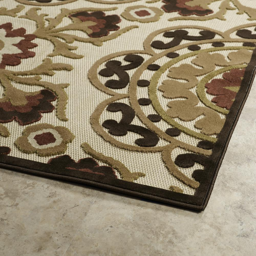 Kaleen A Breath Of Fresh Air Khaki Fsr05 105 Area Rug