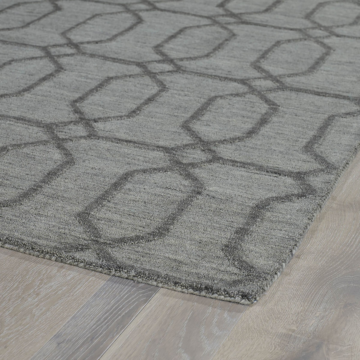 Kaleen Imprints Modern Grey Ipm03 75 Area Rug Free Shipping