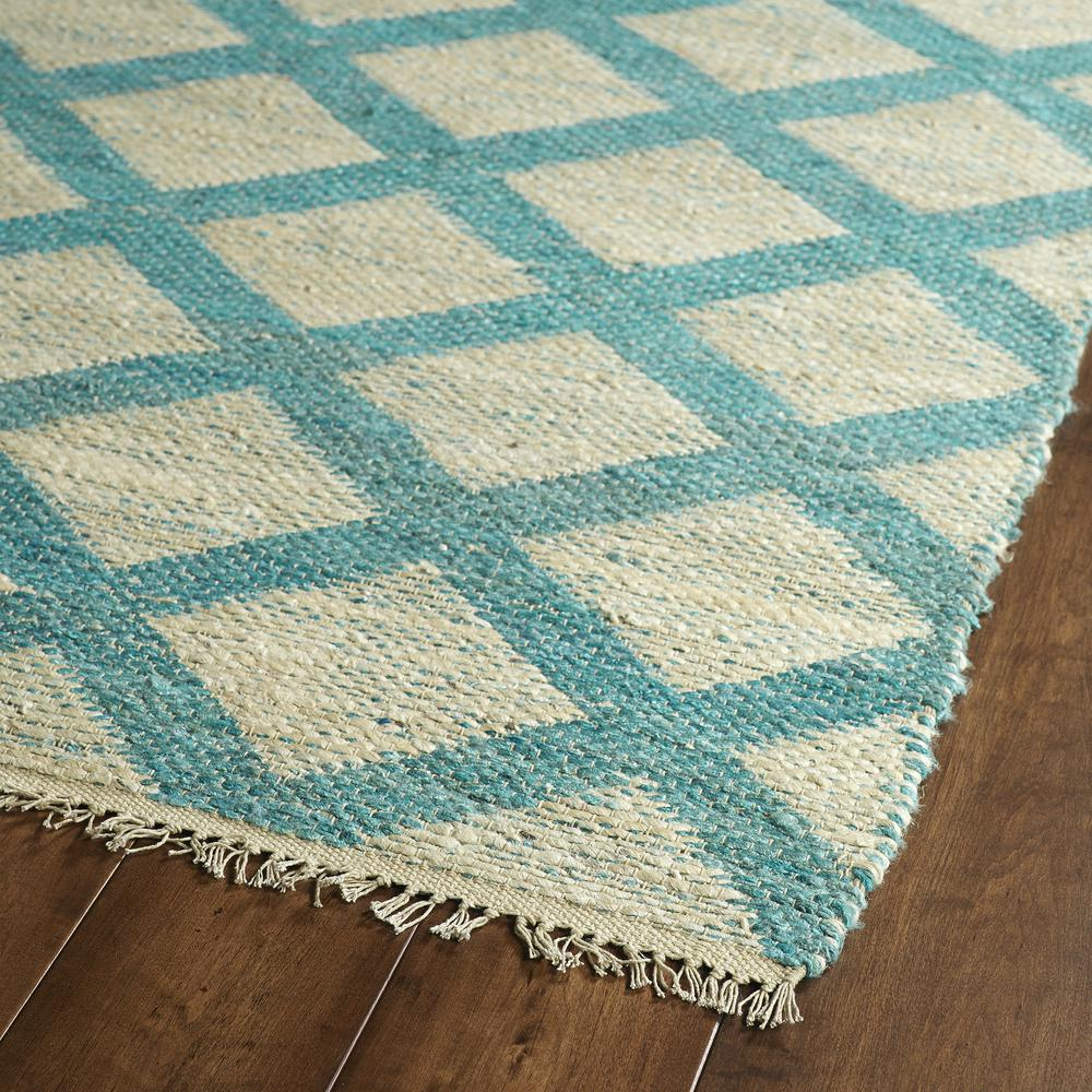 Kaleen Kenwood Teal Ken05 91 Area Rug Free Shipping