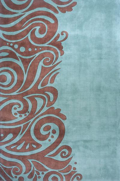 Momeni New Wave Turquoise Nw 88 Area Rug Free Shipping