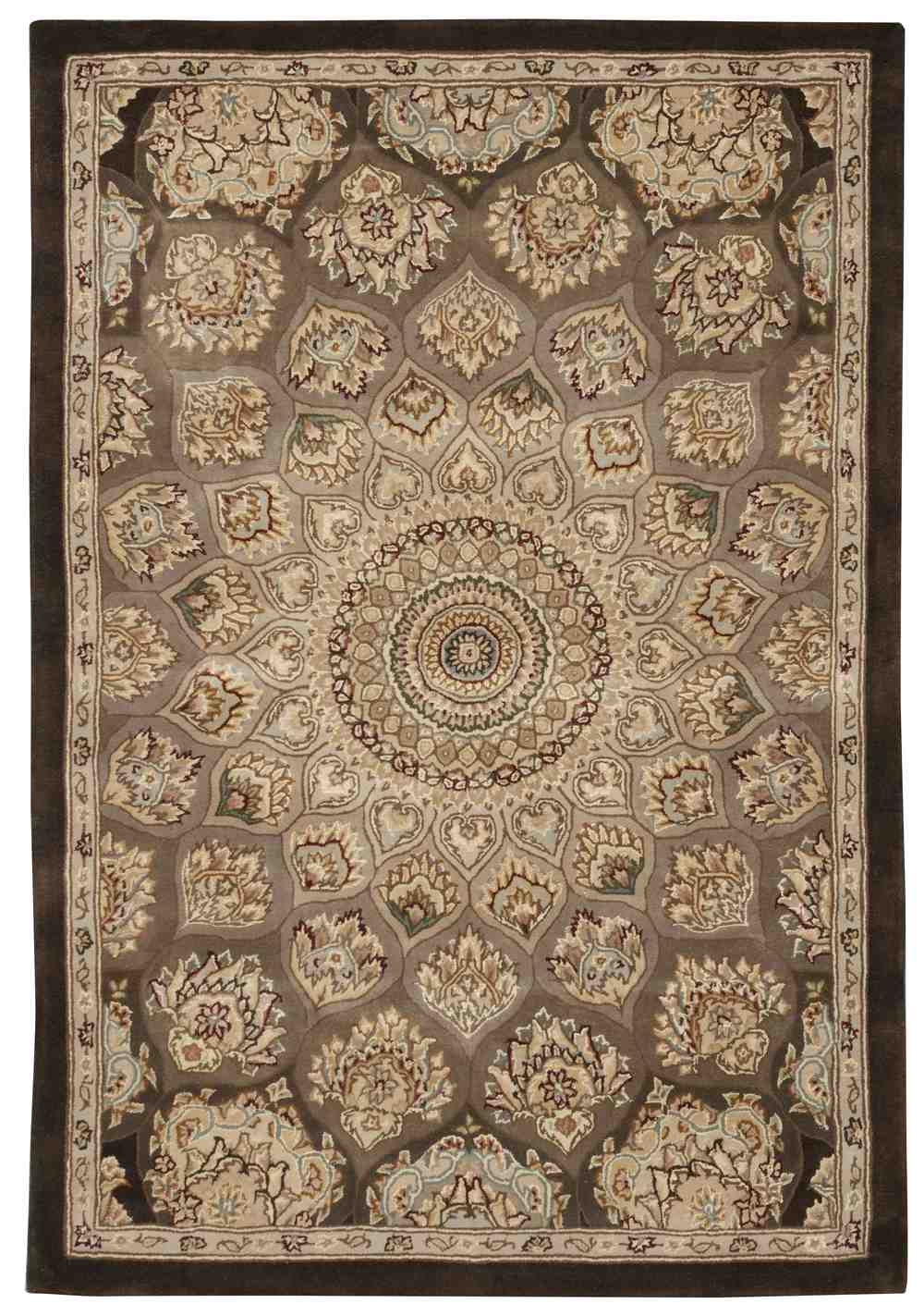 Nourison 2000 2318 Brown Area Rug Free Shipping