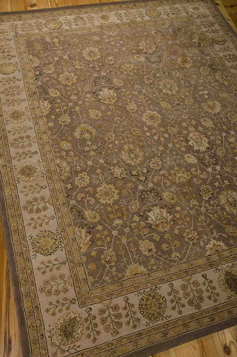 Nourison 3000 3102 Taupe Area Rug Free Shipping