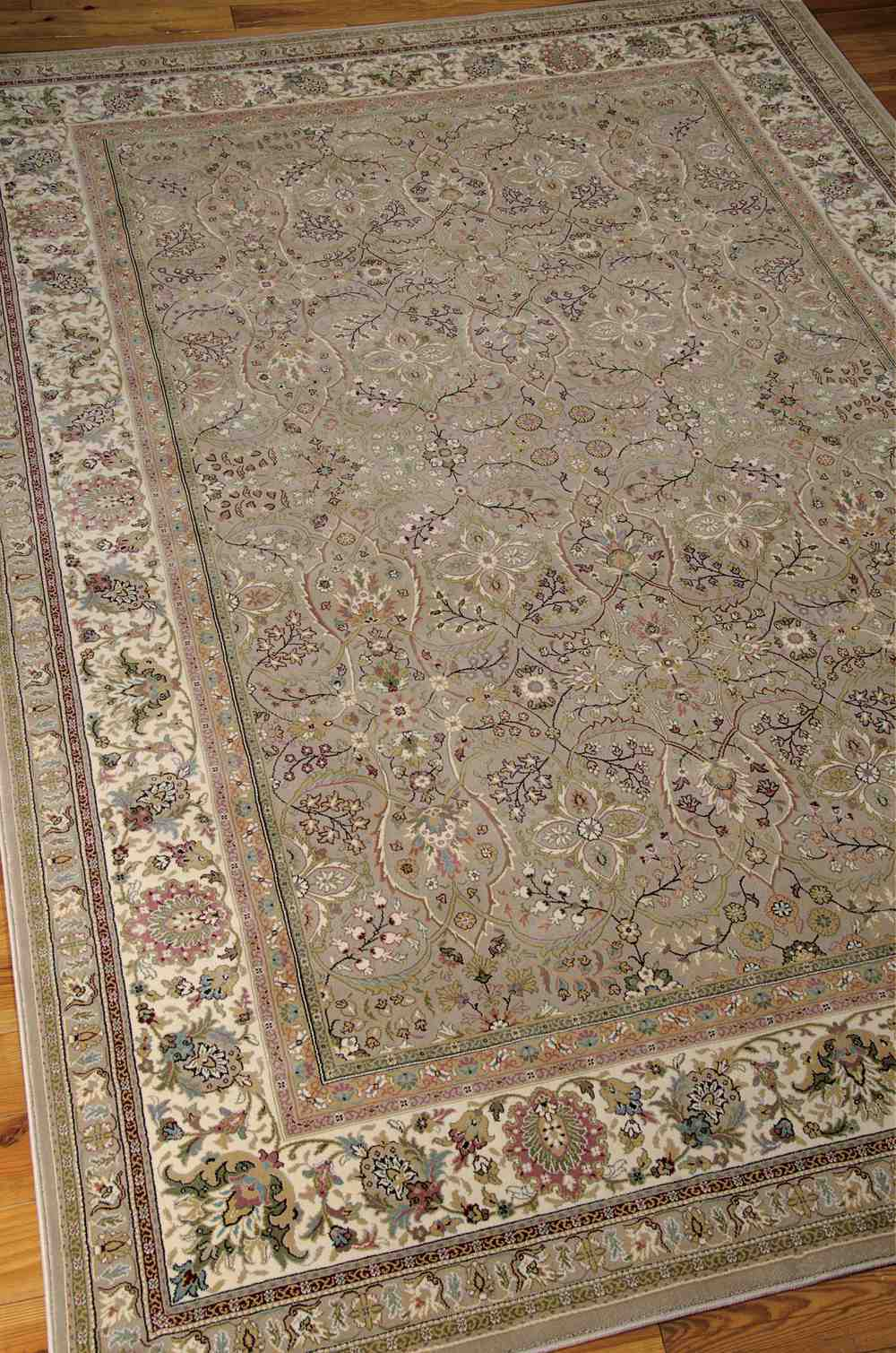 Nourison Kathy Ireland Antiquities Ant03 Cream Area Rug