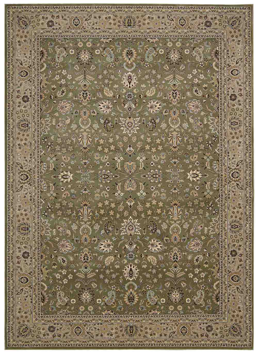 Nourison Kathy Ireland Antiquities Ant04 Sage Area Rug
