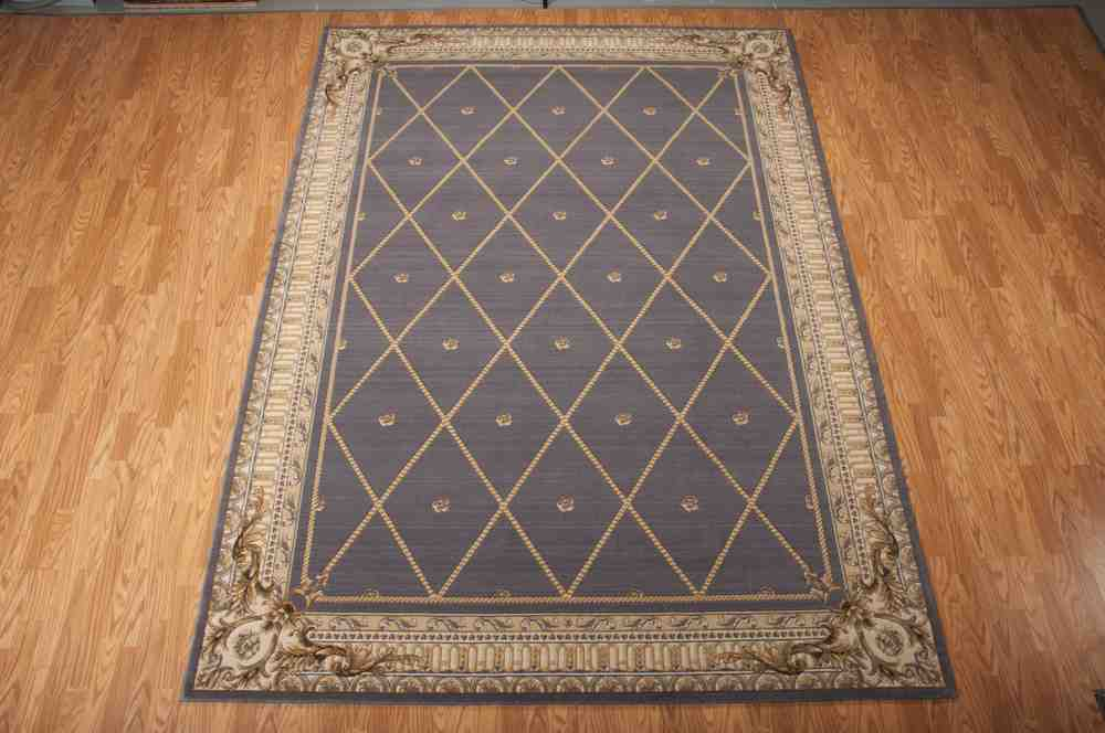 Nourison Ashton House As03 Blue Area Rug Free Shipping