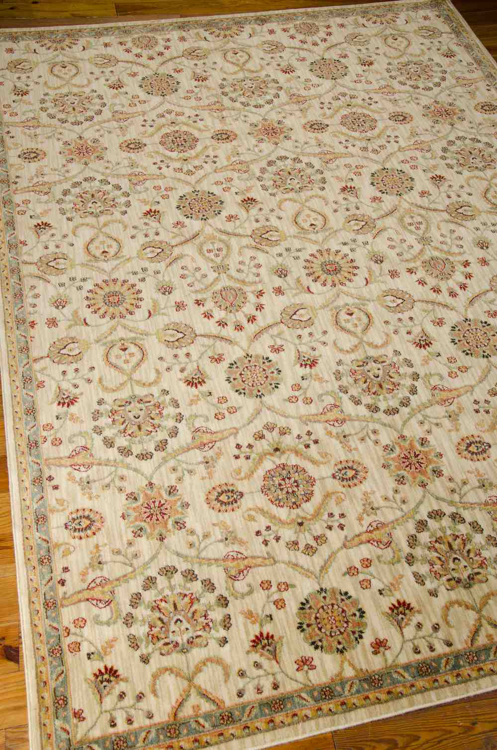 Nourison Kathy Ireland Ancient Times Bab01 Ivory Area Rug