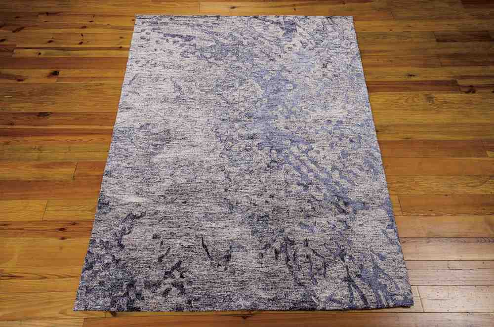 Nourison Gemstone Gem05 Sapphire Area Rug Free Shipping