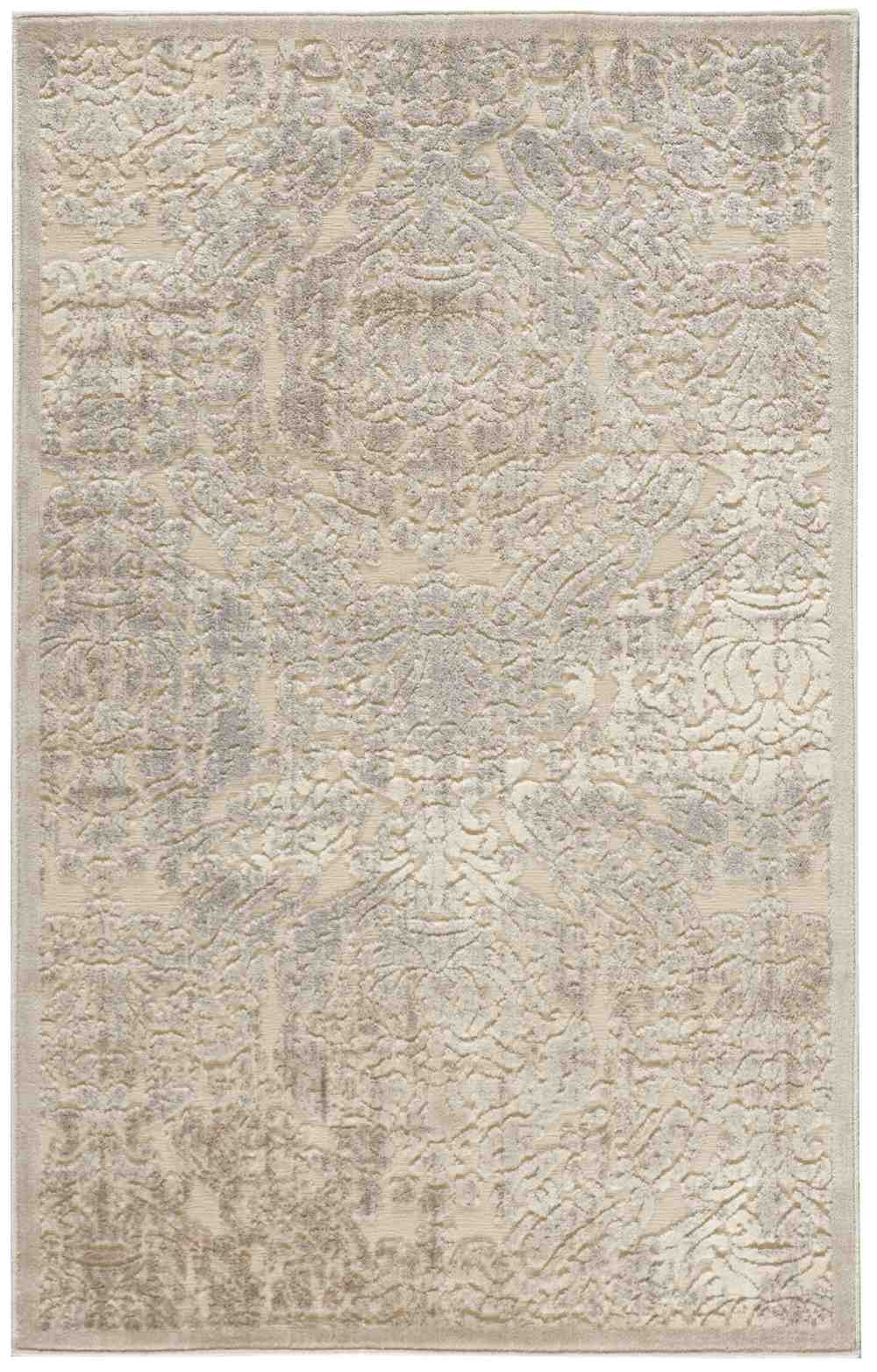 Nourison Graphic Illusions Gil09 Ivory Area Rug Free