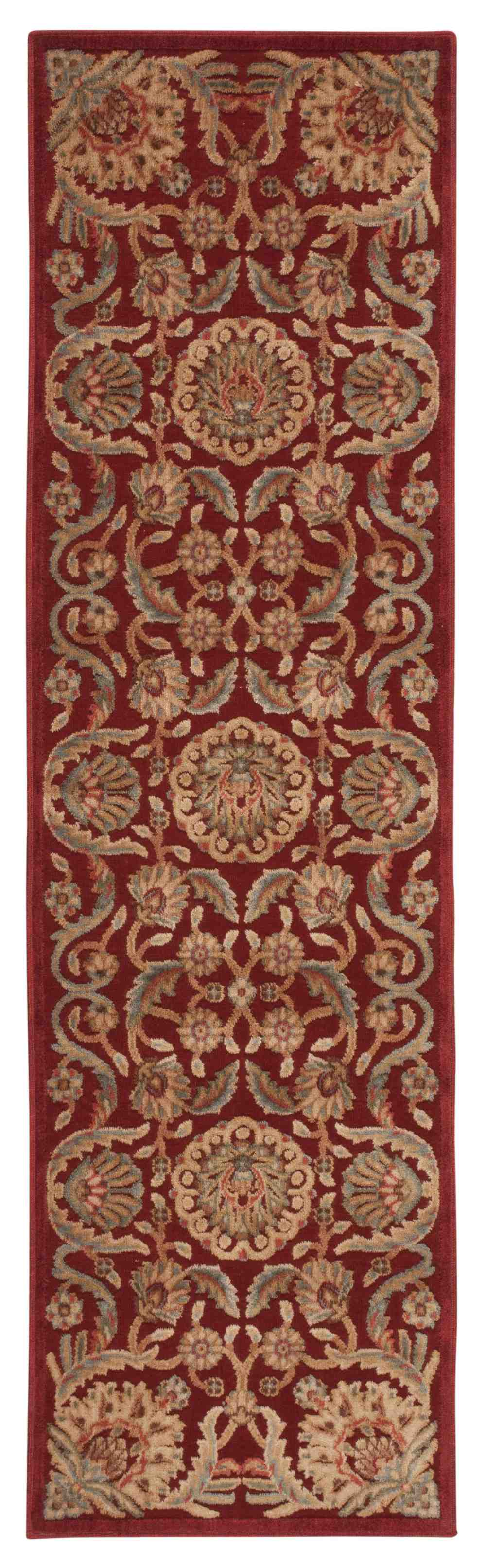 Nourison graphic illusions gil17 red area rug free shipping for Graphic illusions