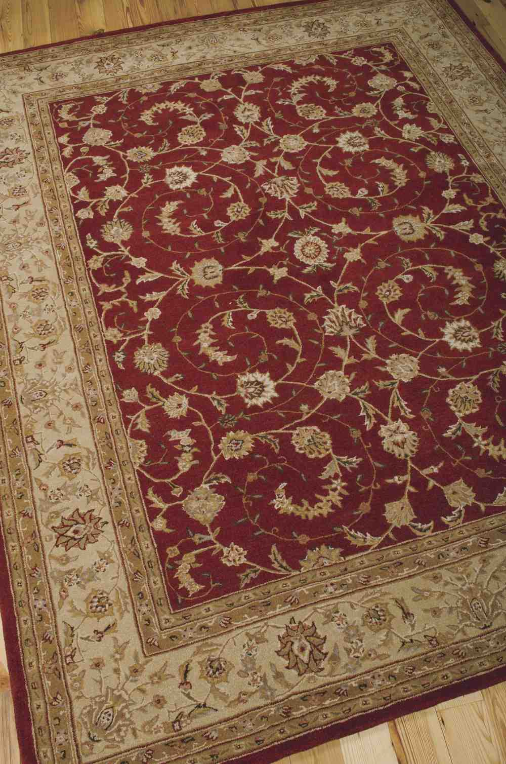 Nourison Heritage Hall HE04 Lacquer Area Rug Free Shipping