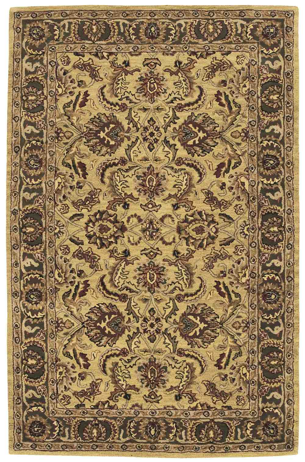Nourison India House Ih17 Gold Area Rug Free Shipping