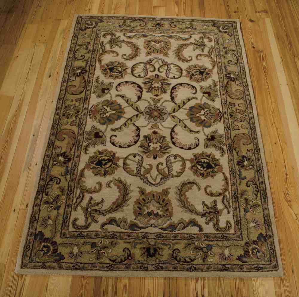 Nourison India House Ih47 Ivory Gold Area Rug Free Shipping