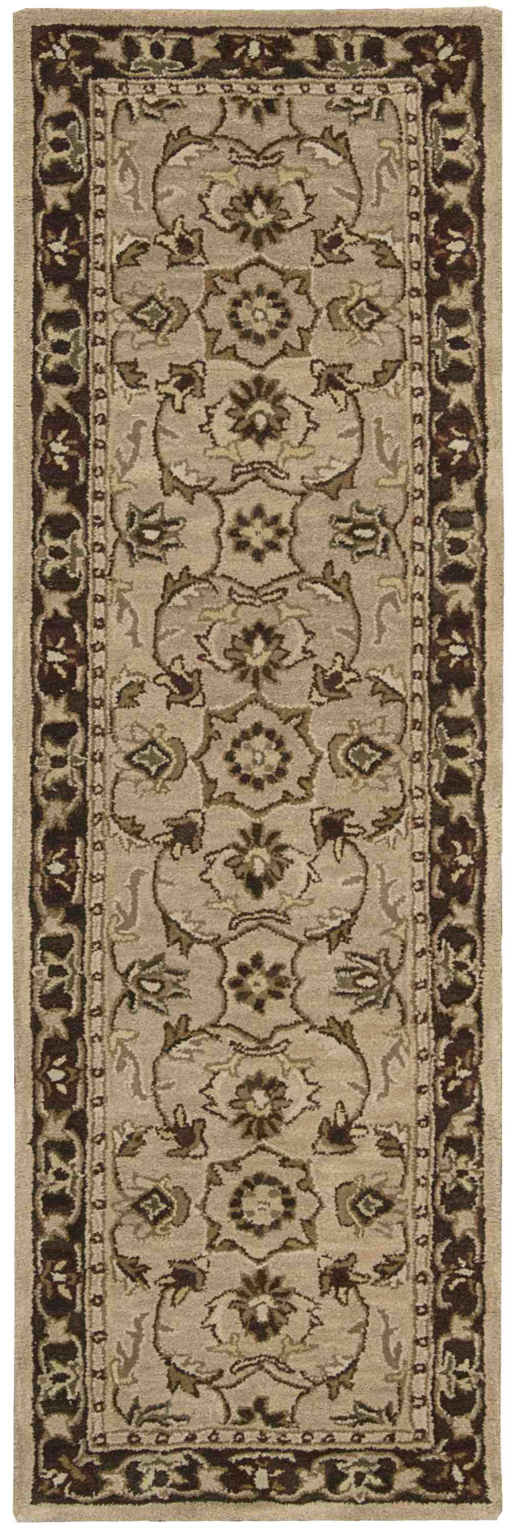 Nourison India House Ih71 Taupe Area Rug Free Shipping