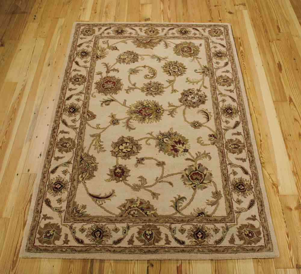 Area Rugs From India: Nourison India House IH73 Ivory Area Rug