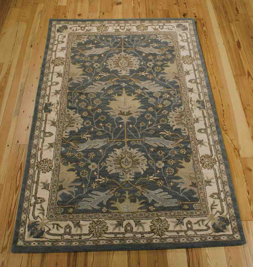 Nourison India House Ih75 Blue Area Rug Free Shipping