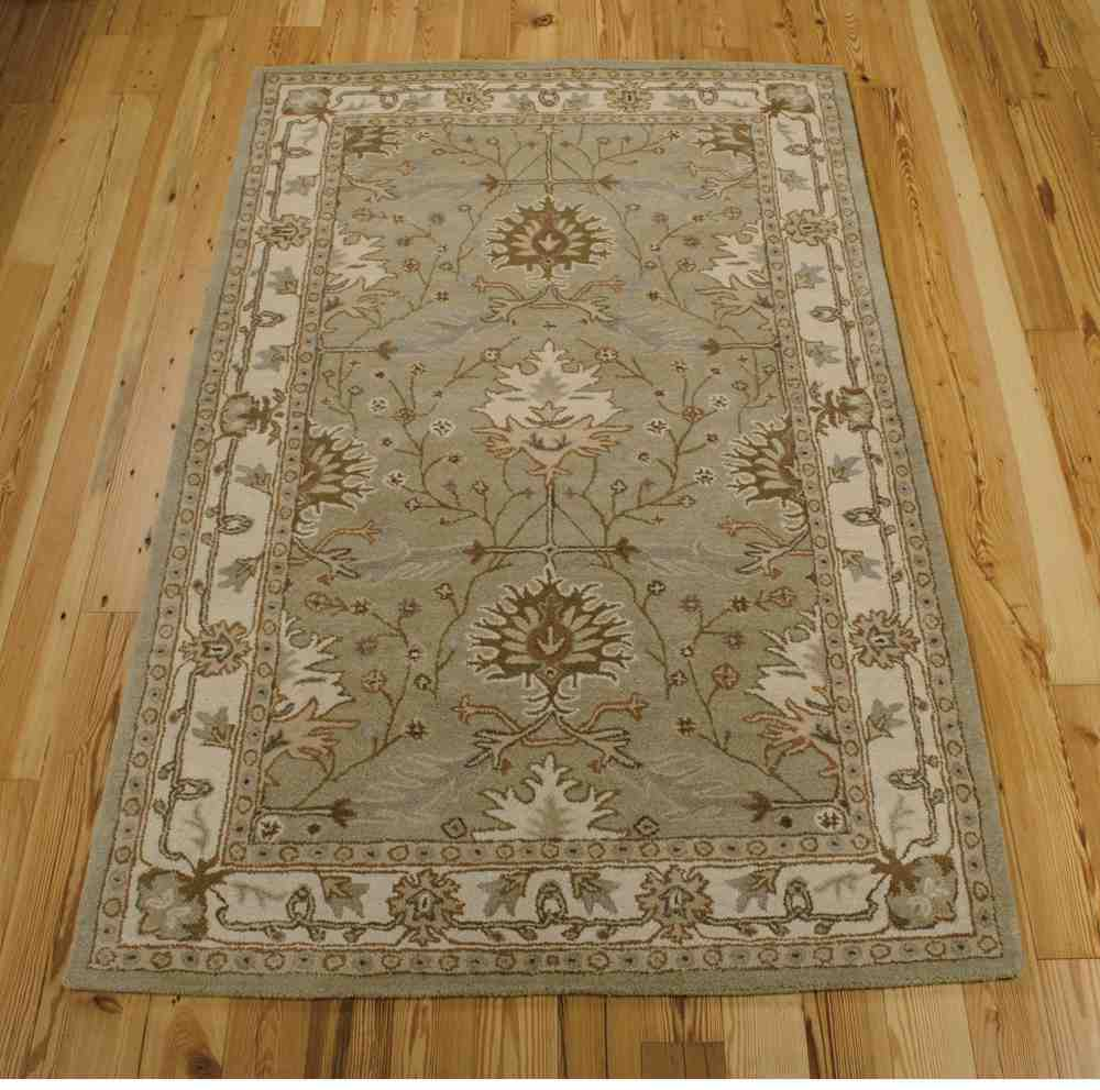 Nourison India House Ih76 Sage Area Rug Free Shipping