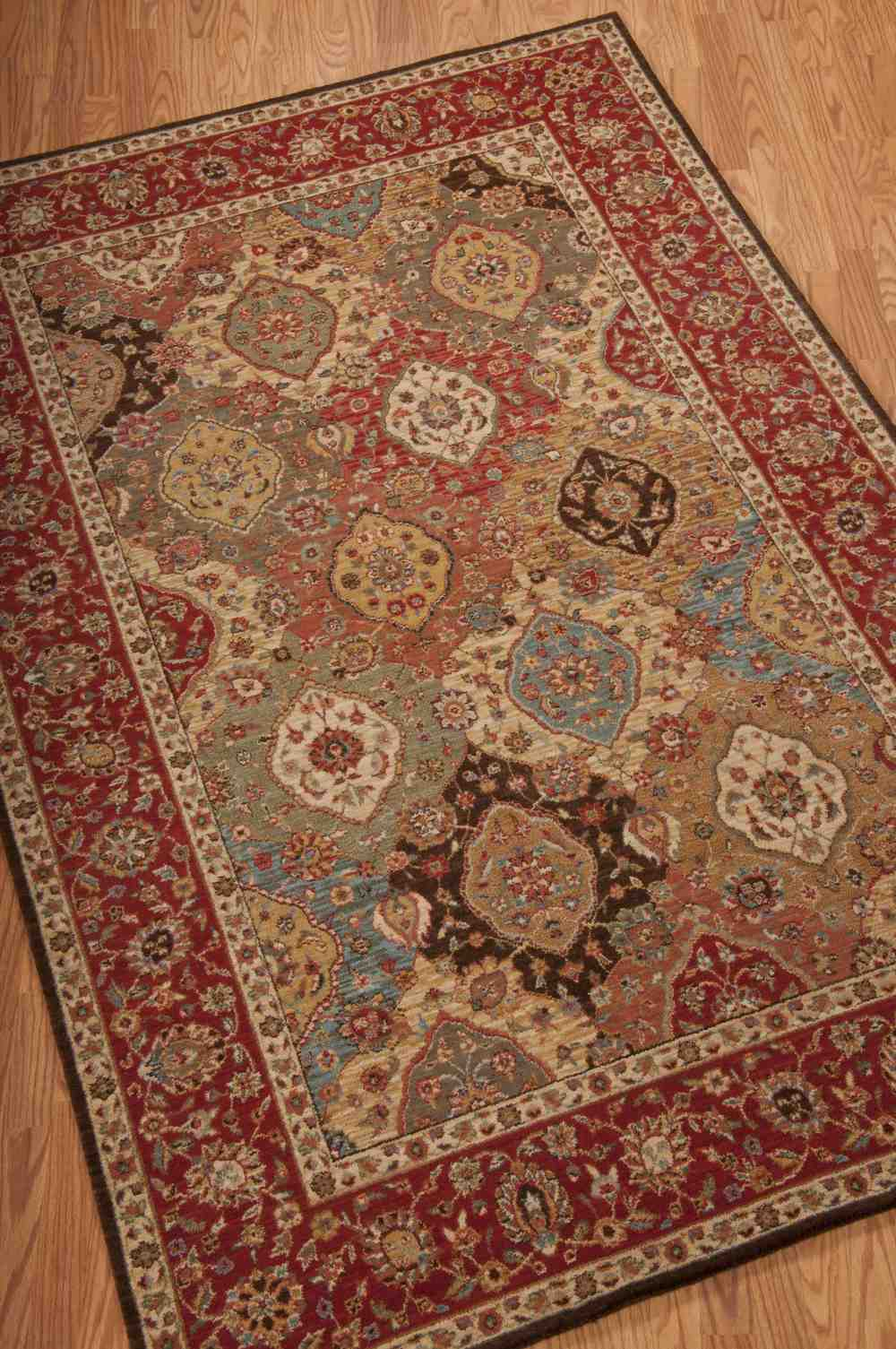 Nourison Living Treasures Li03 Multicolor Area Rug Free