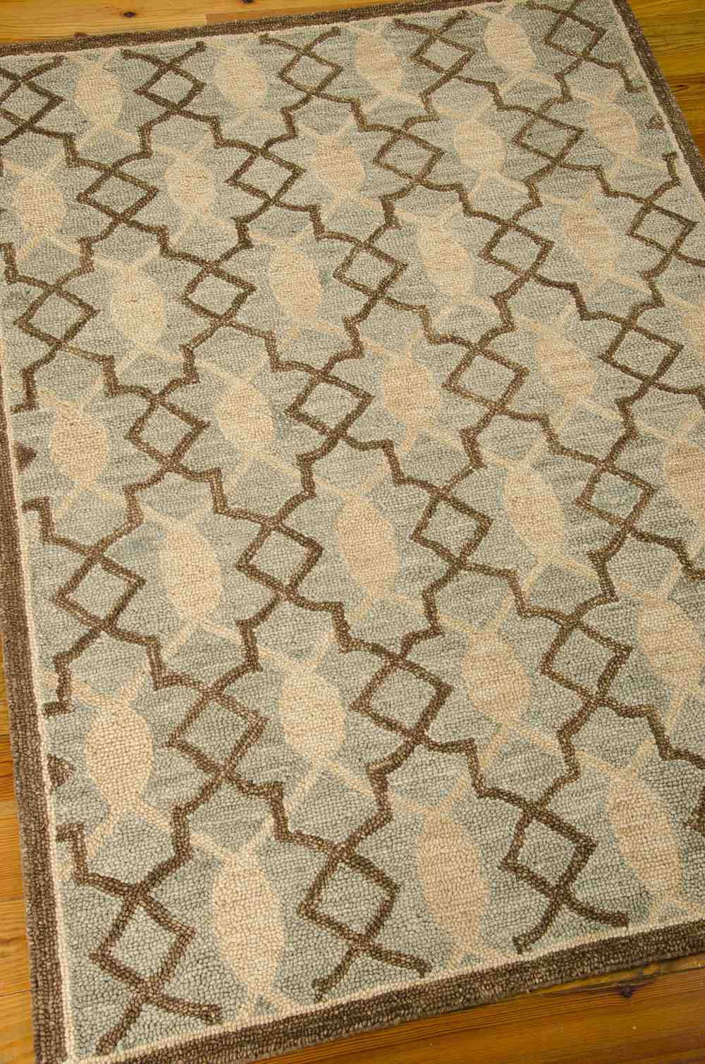 Nourison Marina Mrn15 Light Green Area Rug Free Shipping