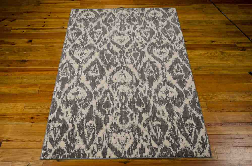 Nourison Nepal Nep07 Graphite Area Rug Free Shipping