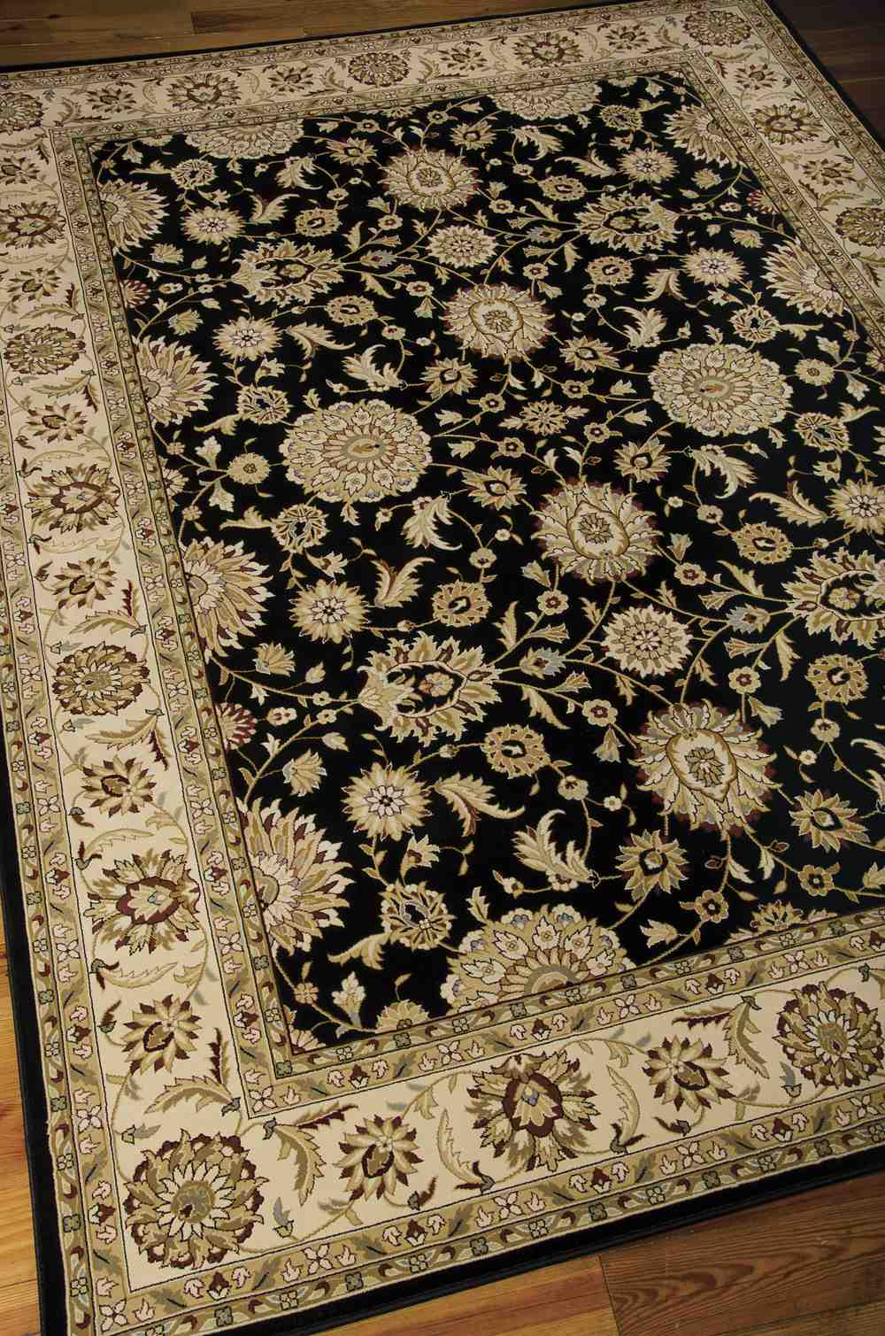 Nourison Persian Crown Pc002 Black Area Rug Free Shipping