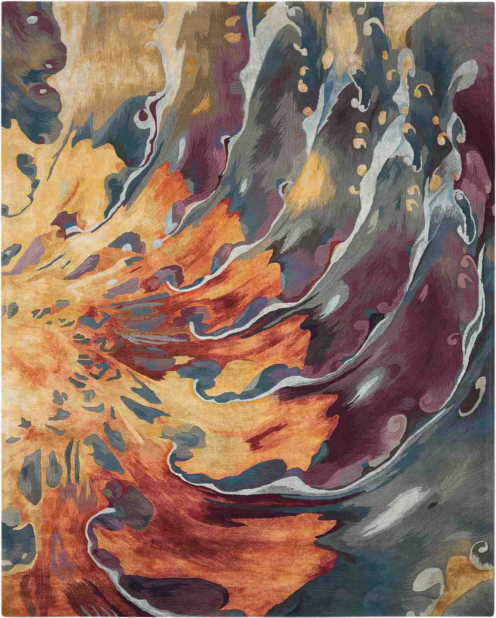 Nourison Prismatic Prs08 Multicolor Area Rug Free Shipping