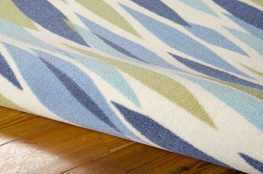 Nourison Waverly Sun And Shade Snd01 Seaglass Area Rug