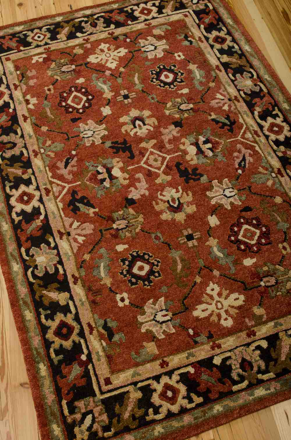 New Trans Am >> Nourison Tahoe TA12 Rust Area Rug | Free Shipping