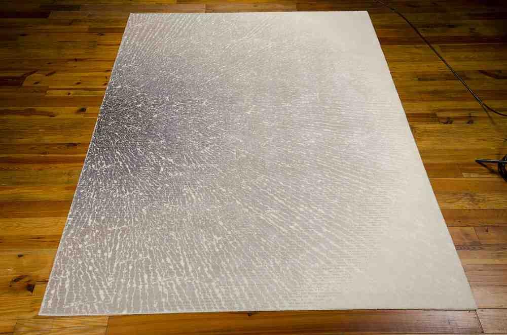 Nourison Twilight Twi12 Ivory Grey Area Rug Free Shipping