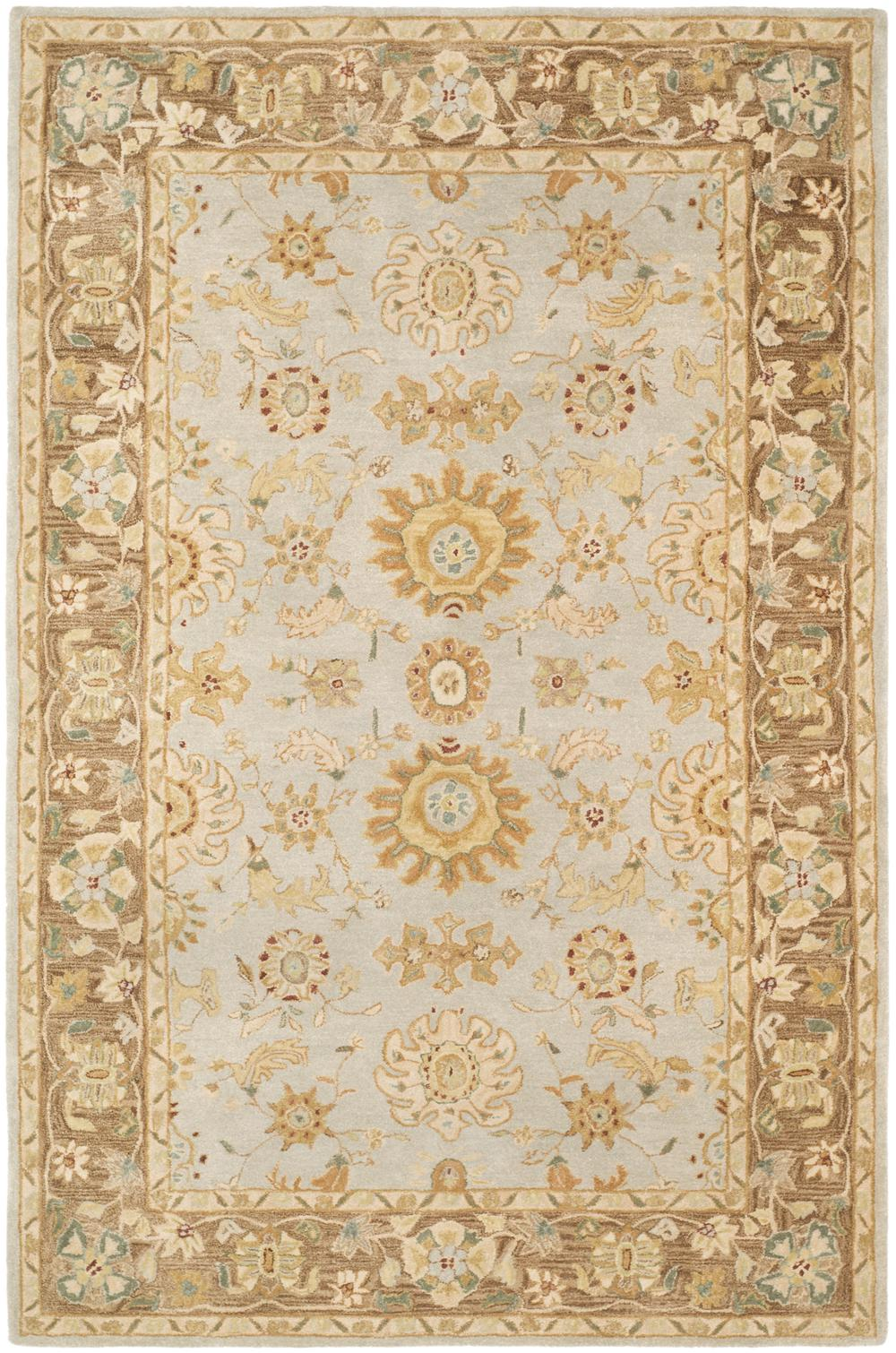 Safavieh Anatolia An557a Teal And Brown Area Rug Free