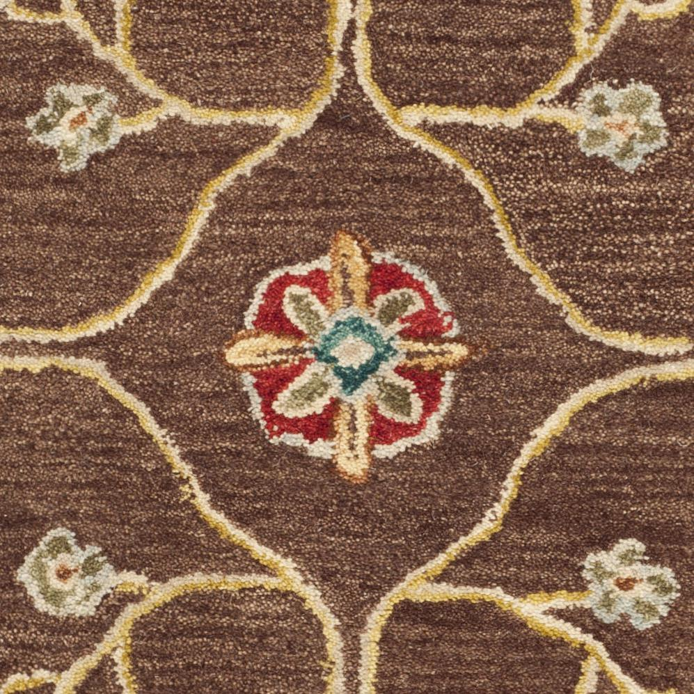 Safavieh Anatolia An562a Brown And Gold Area Rug Free