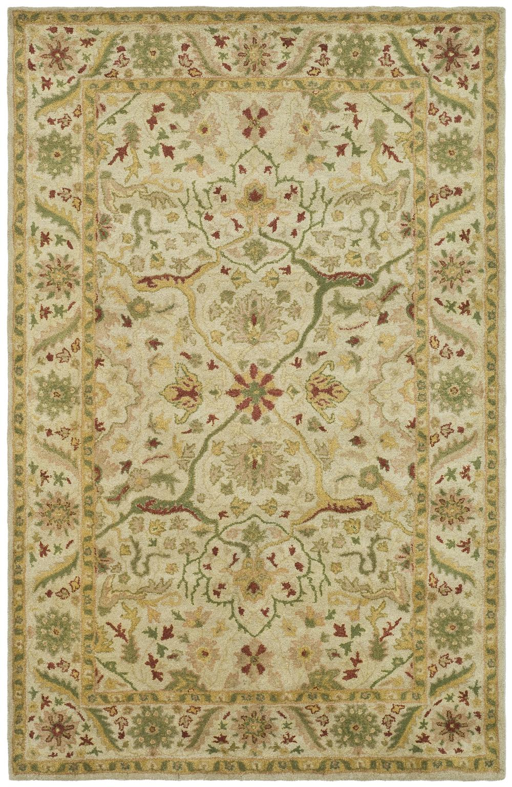 Safavieh Antiquity At14a Ivory Area Rug Free Shipping