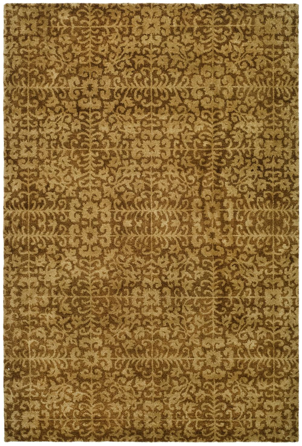 Safavieh Antiquity At411a Gold And Beige Area Rug Free