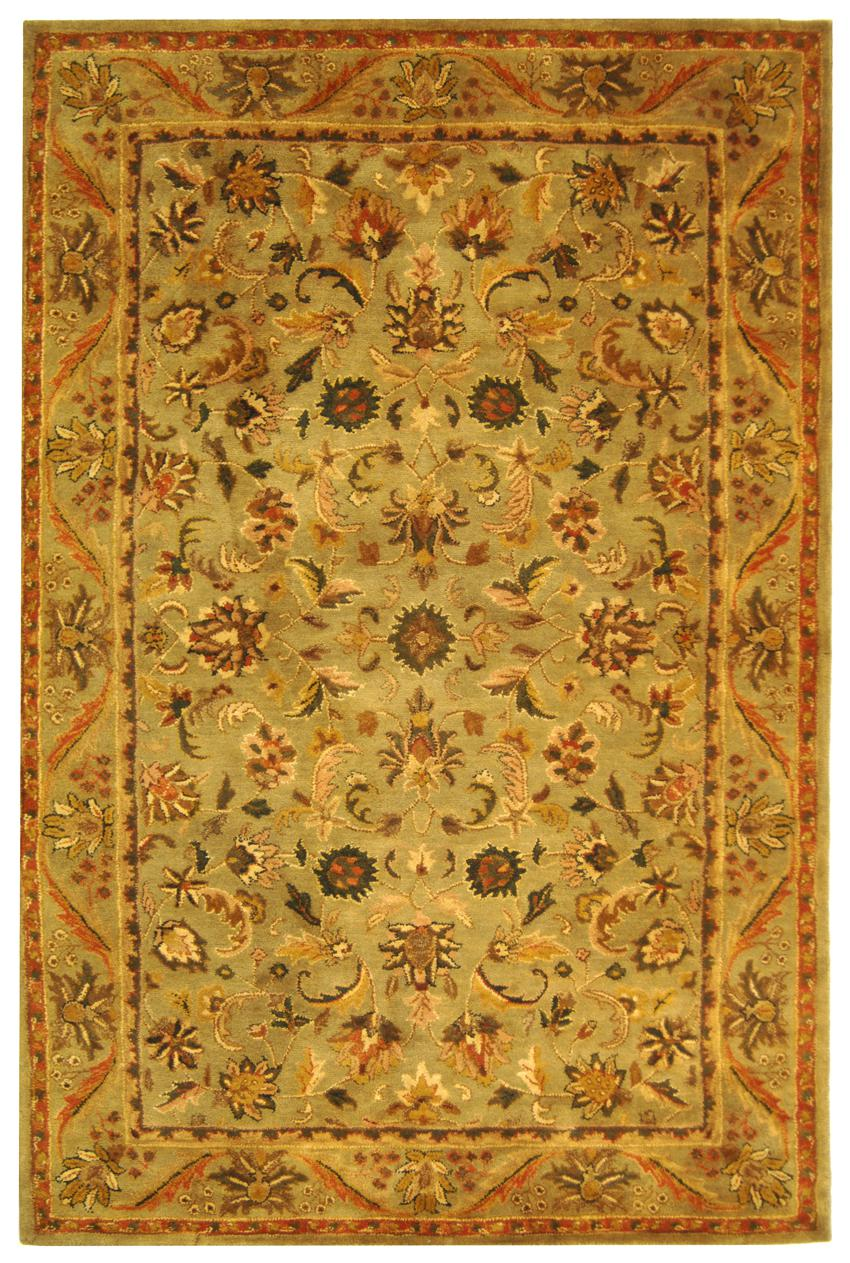 Safavieh Antiquity At52a Sage And Gold Area Rug Free