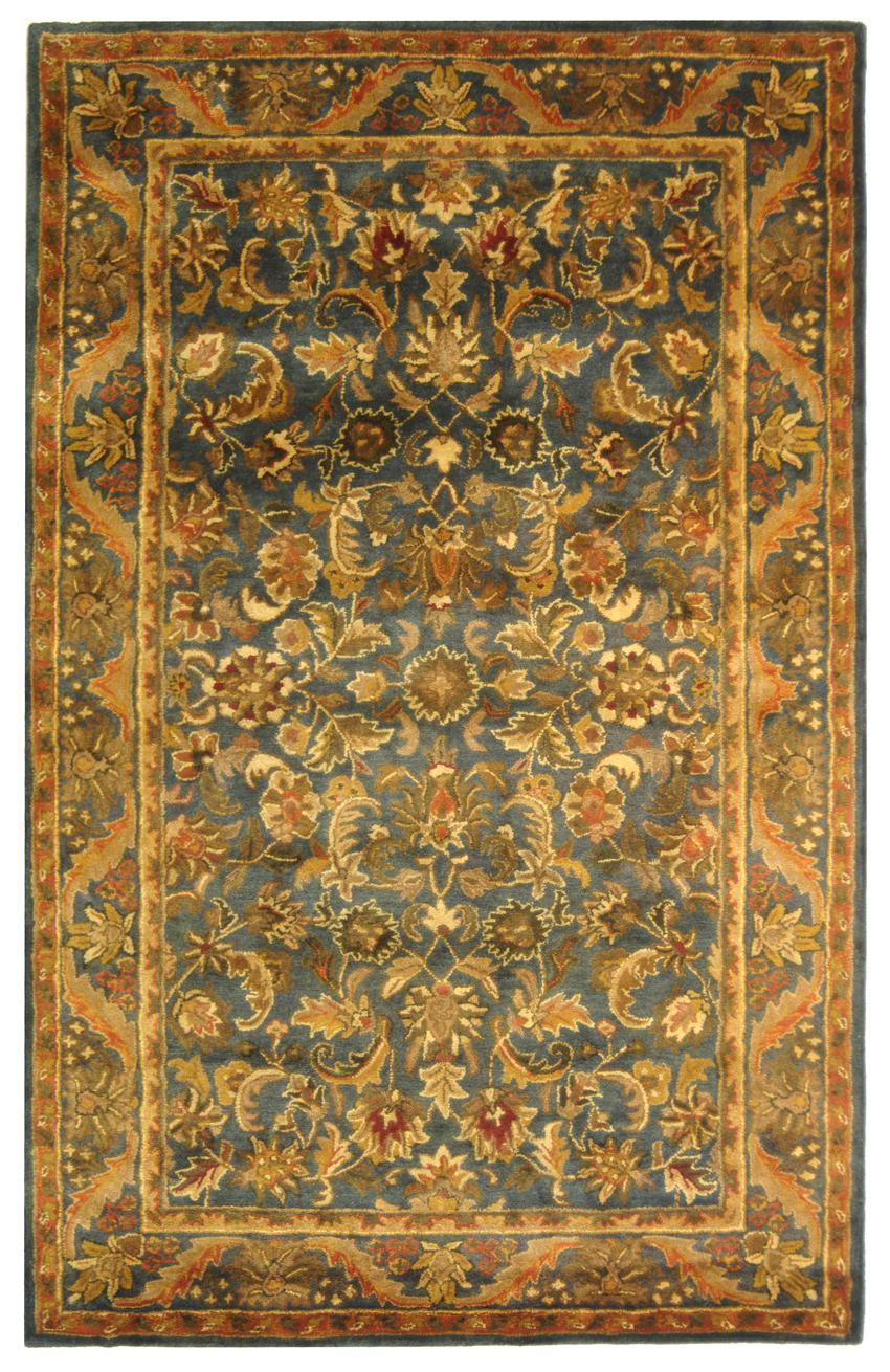 Safavieh Antiquity At52c Blue And Gold Area Rug Free