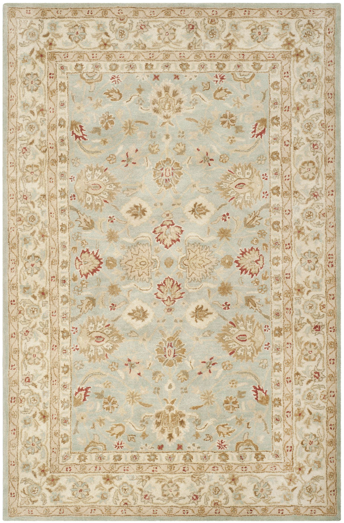 Safavieh Antiquity At822a Grey Blue And Beige Area Rug