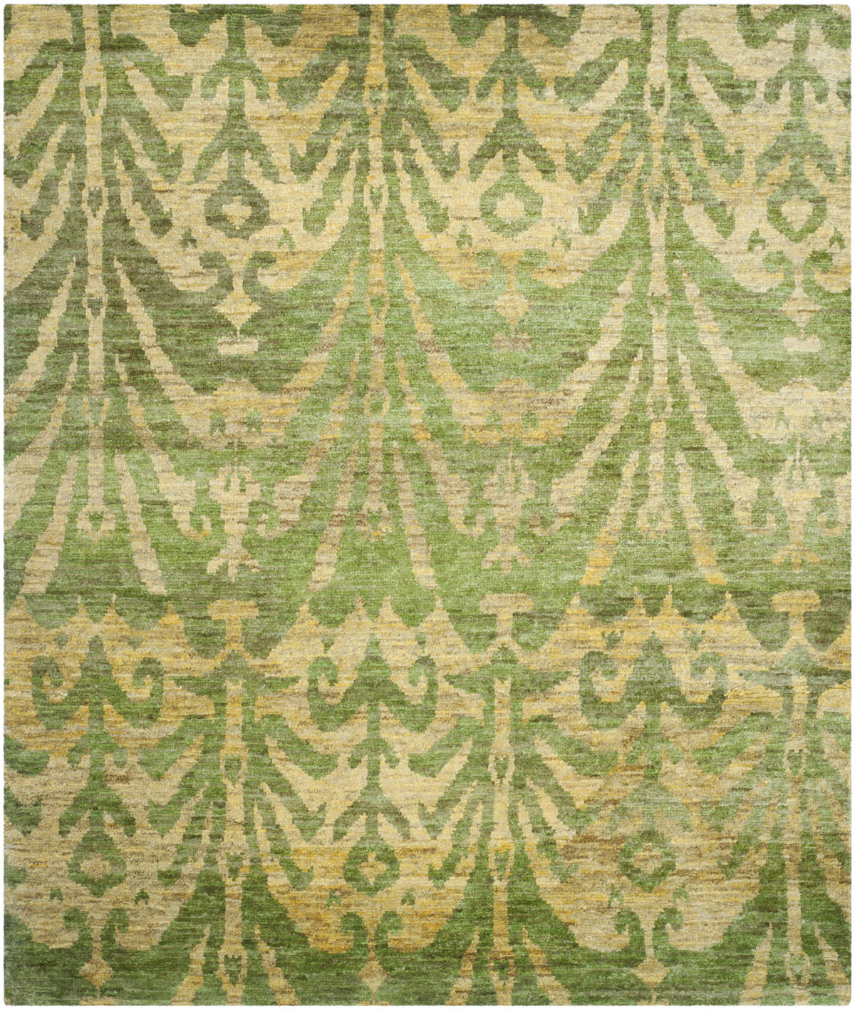 Safavieh Bohemian Boh631a Green And Gold Area Rug Free