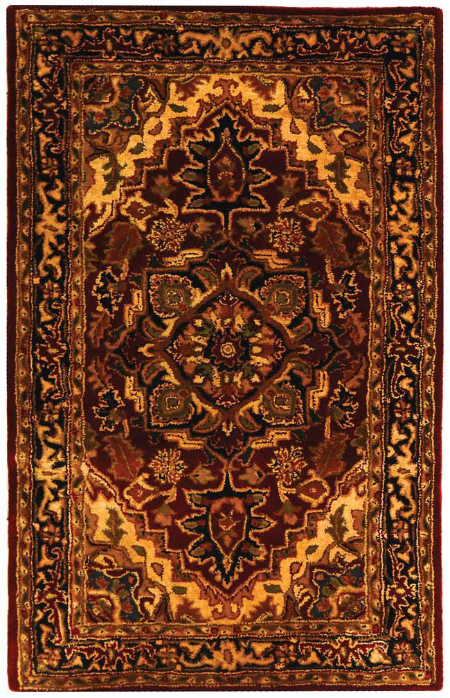 Safavieh Classic Cl763b Red And Navy Area Rug Free Shipping