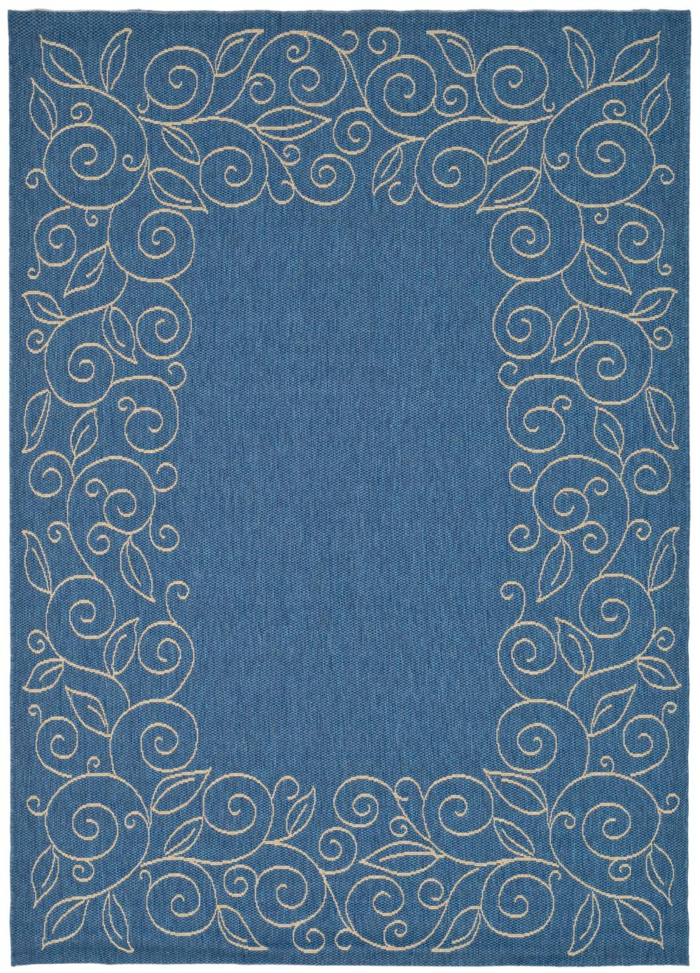 Safavieh Courtyard Cy5139c Blue And Ivory Area Rug Free