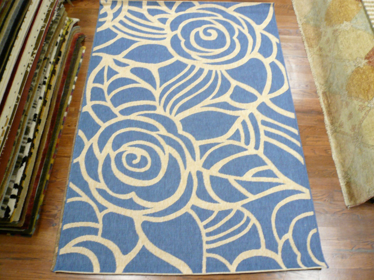 Safavieh Courtyard CY5141C Blue And Beige Area Rug