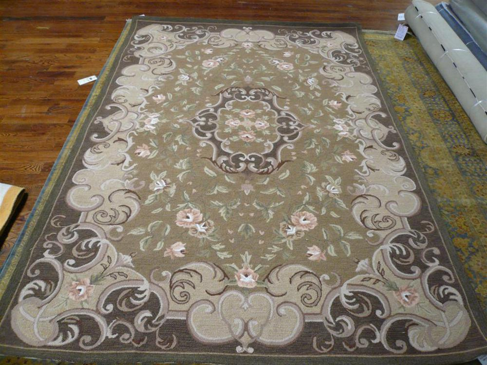 Safavieh DuraRug EZC434C Beige And Brown Area Rug