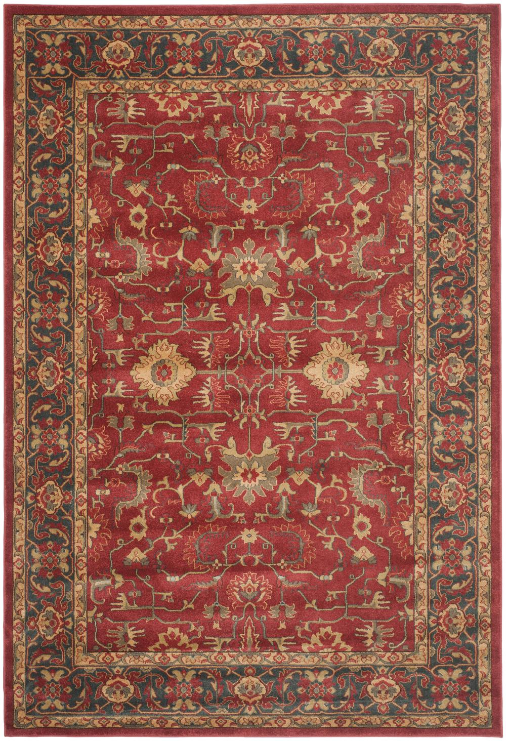 Safavieh Mahal Mah693f Red And Navy Area Rug Free Shipping