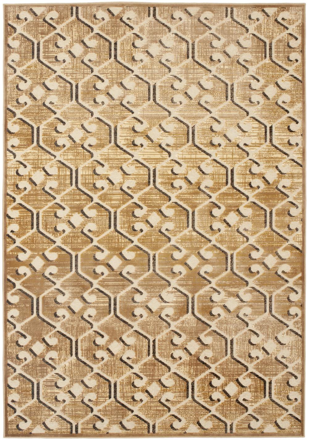Safavieh paradise par164 604 taupe and multi area rug for Area 604