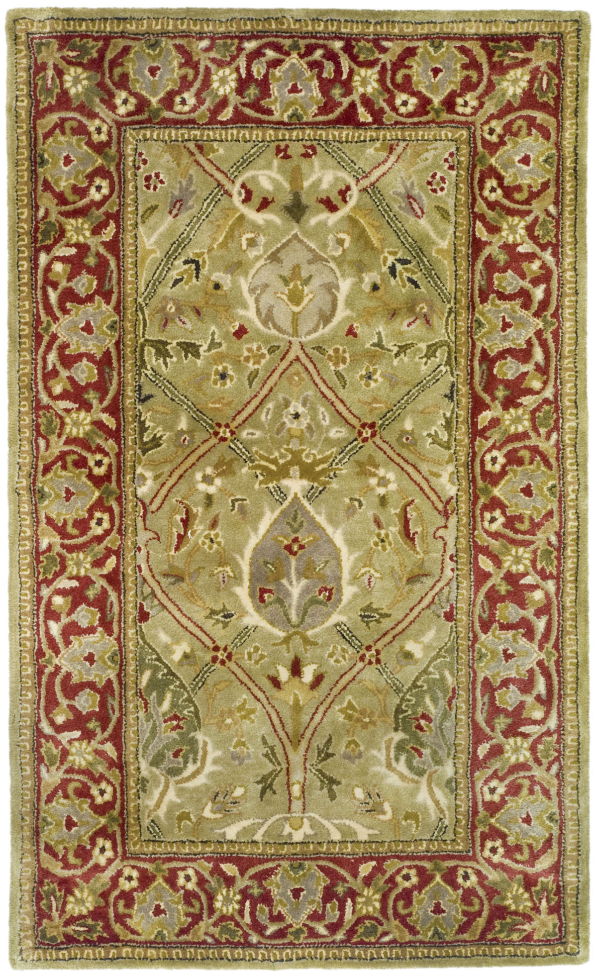 Safavieh Persian Legend Pl819b Light Green And Rust Area