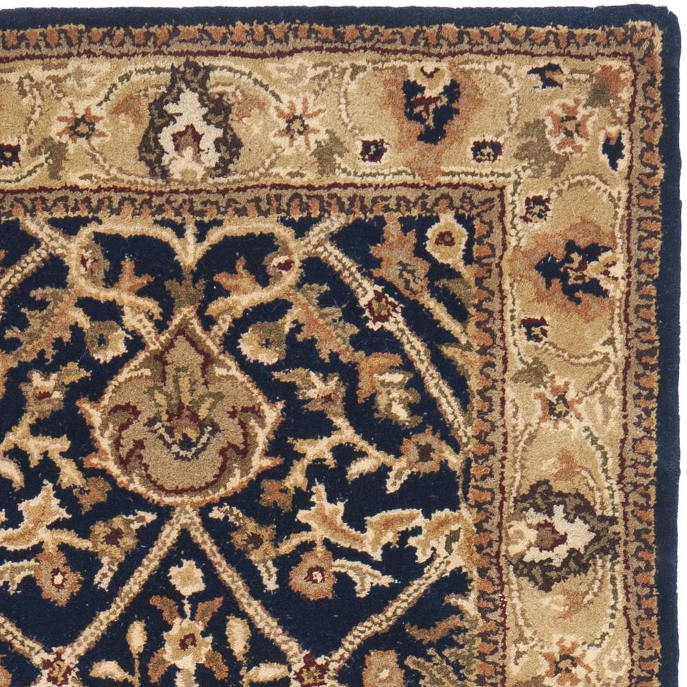 safavieh persian legend pl819c blue and gold area rug bold rugs. Black Bedroom Furniture Sets. Home Design Ideas