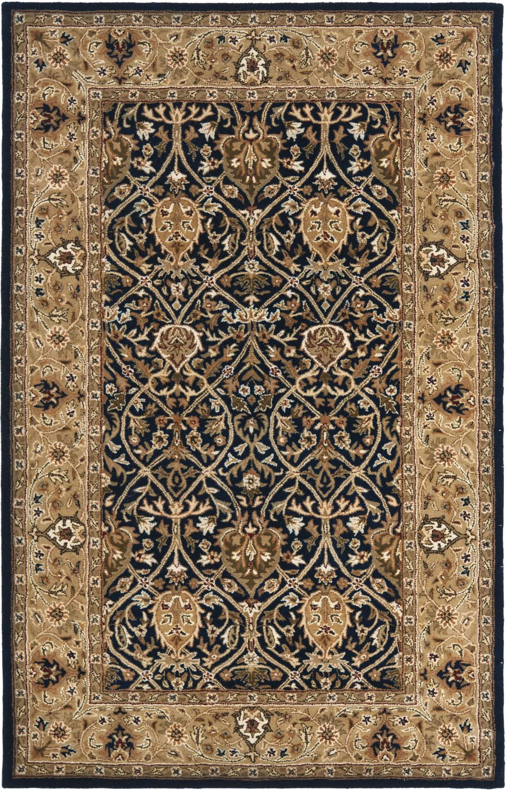 Safavieh Persian Legend Pl819c Blue And Gold Area Rug